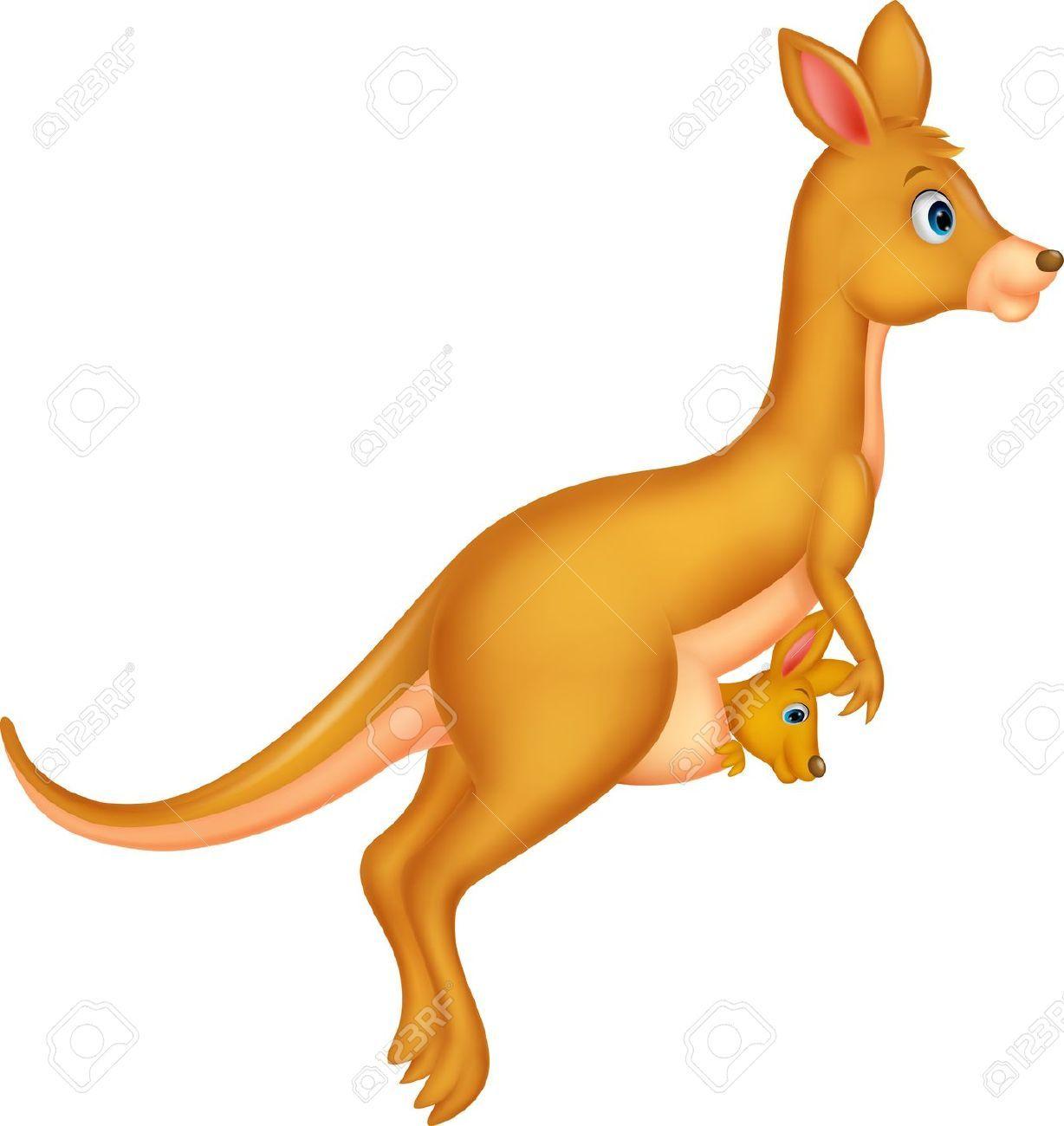 Kangaroo jumping clipart image transparent stock Jumping kangaroo clipart 1 » Clipart Portal image transparent stock