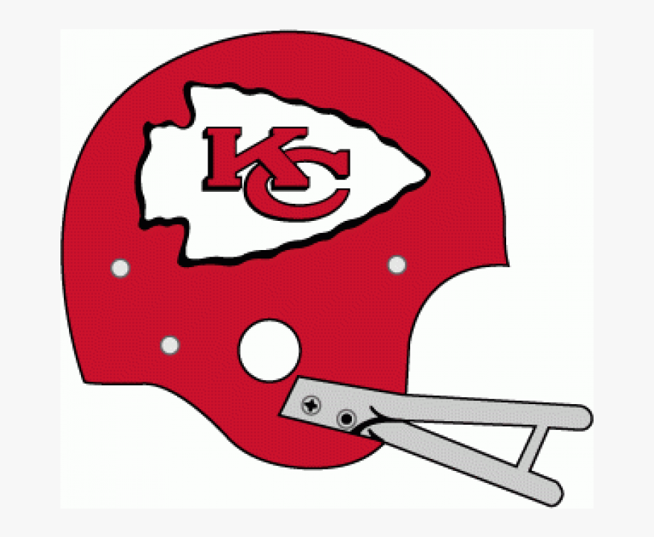 Kansas city chiefs helmet clipart vector library stock Kansas City Chiefs Iron On Stickers And Peel-off Decals ... vector library stock