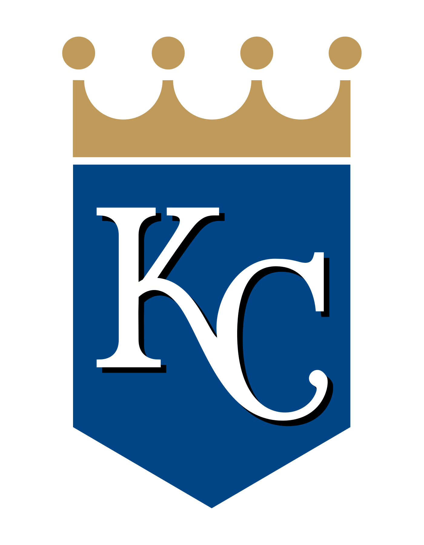 Kansas city royals crown logo clipart png library stock Kansas City Royals Logo PNG Transparent & SVG Vector - Freebie Supply png library stock