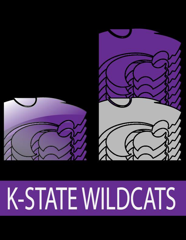 Kansas state logo clipart png png transparent download Kansas state wildcat clipart - ClipartFest png transparent download