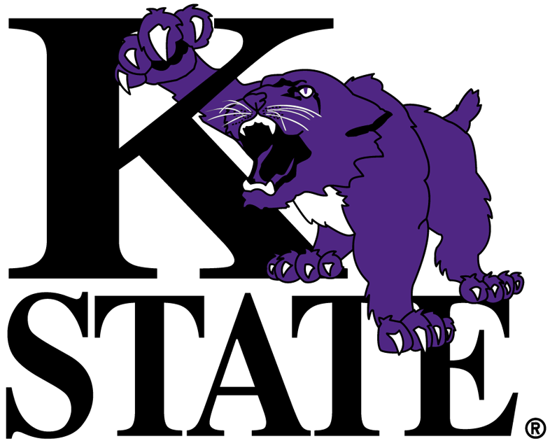 Kansas state logo clipart png png library stock Kansas State Wildcats Primary Logo - NCAA Division I (i-m) (NCAA ... png library stock
