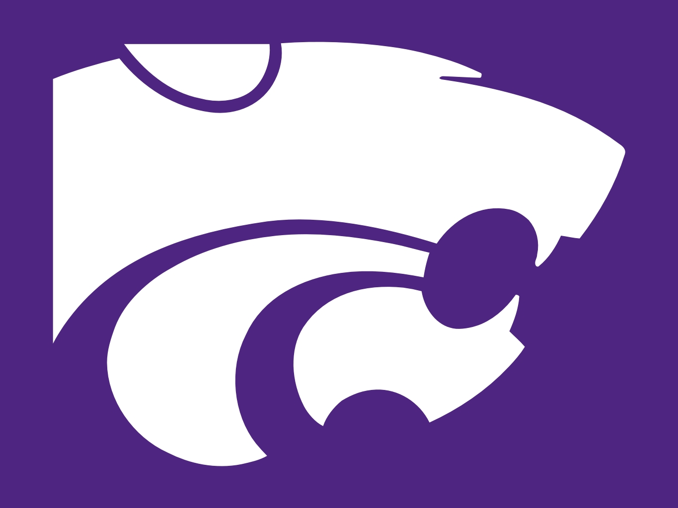Kansas state logo clipart png vector download Kansas state university logo clipart - ClipartFest vector download