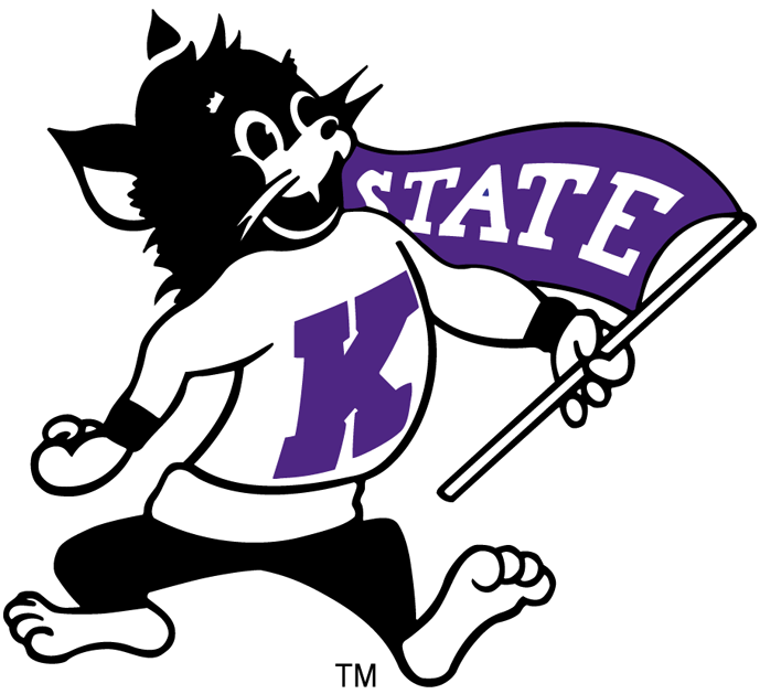 Ksu logo clipart svg transparent download Kansas State Wildcats Primary Logo (1955) - Purple WIldcat ... svg transparent download