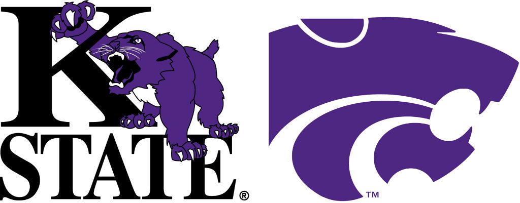 Kansas state university logo clipart clip black and white library k state coloring pages coloring pages kansas state wildcats logo ... clip black and white library