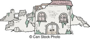 Kaputtes haus clipart vector stock Ruin Illustrations and Clipart. 9,209 Ruin royalty free ... vector stock