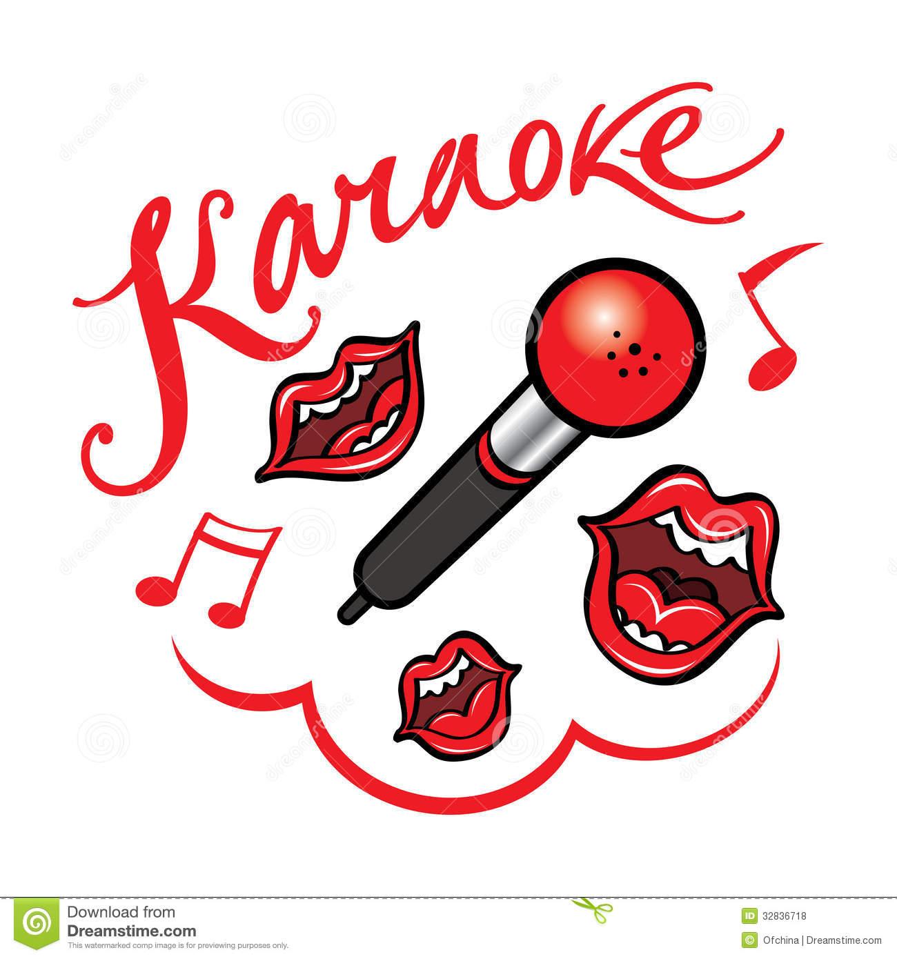 Karaoke clipart free download