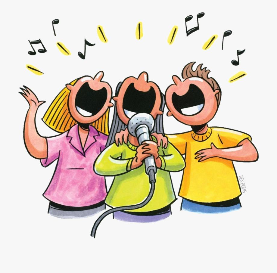Karaoke singer clipart banner royalty free download It Is Happening - Sing Karaoke Cartoon , Transparent Cartoon ... banner royalty free download