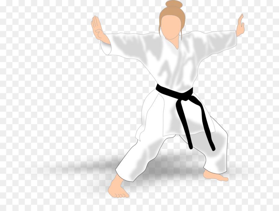 Karate gi clipart picture free download Taekwondo Cartoon clipart - Taekwondo, White, Uniform ... picture free download