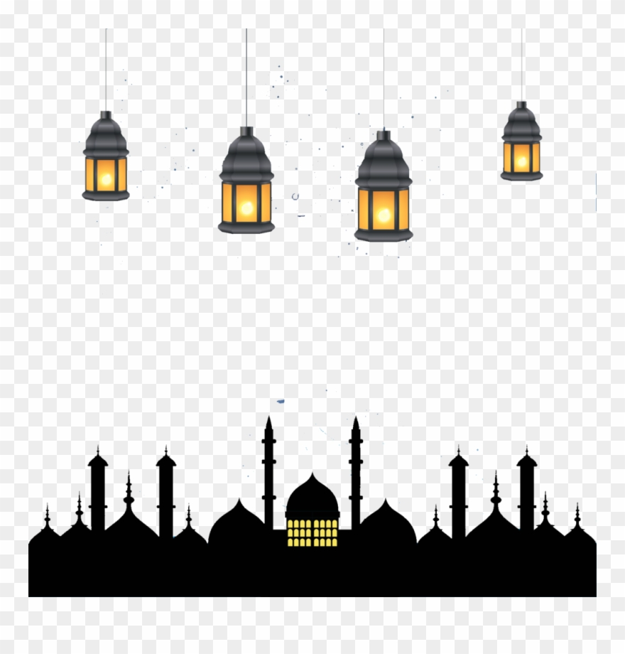 Kareem clipart picture library library Ramadan Kareem Lamps Png Image - Eid El Kabir 2018 Clipart ... picture library library