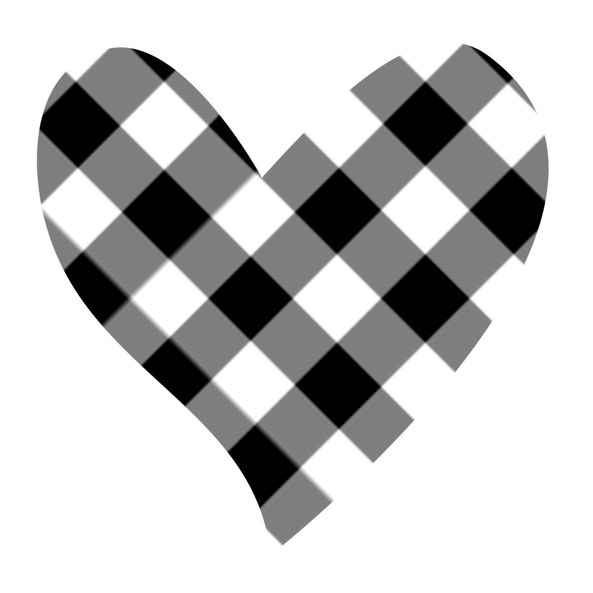 Karen clipart black clipart library Best Black And White Heart Clipart #20633 - Clipartion.com clipart library
