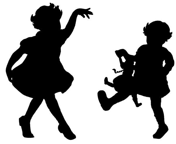 Karen-s whimsy clipart graphic royalty free Dancer Silhouettes | Silhouettes | Dancer silhouette ... graphic royalty free