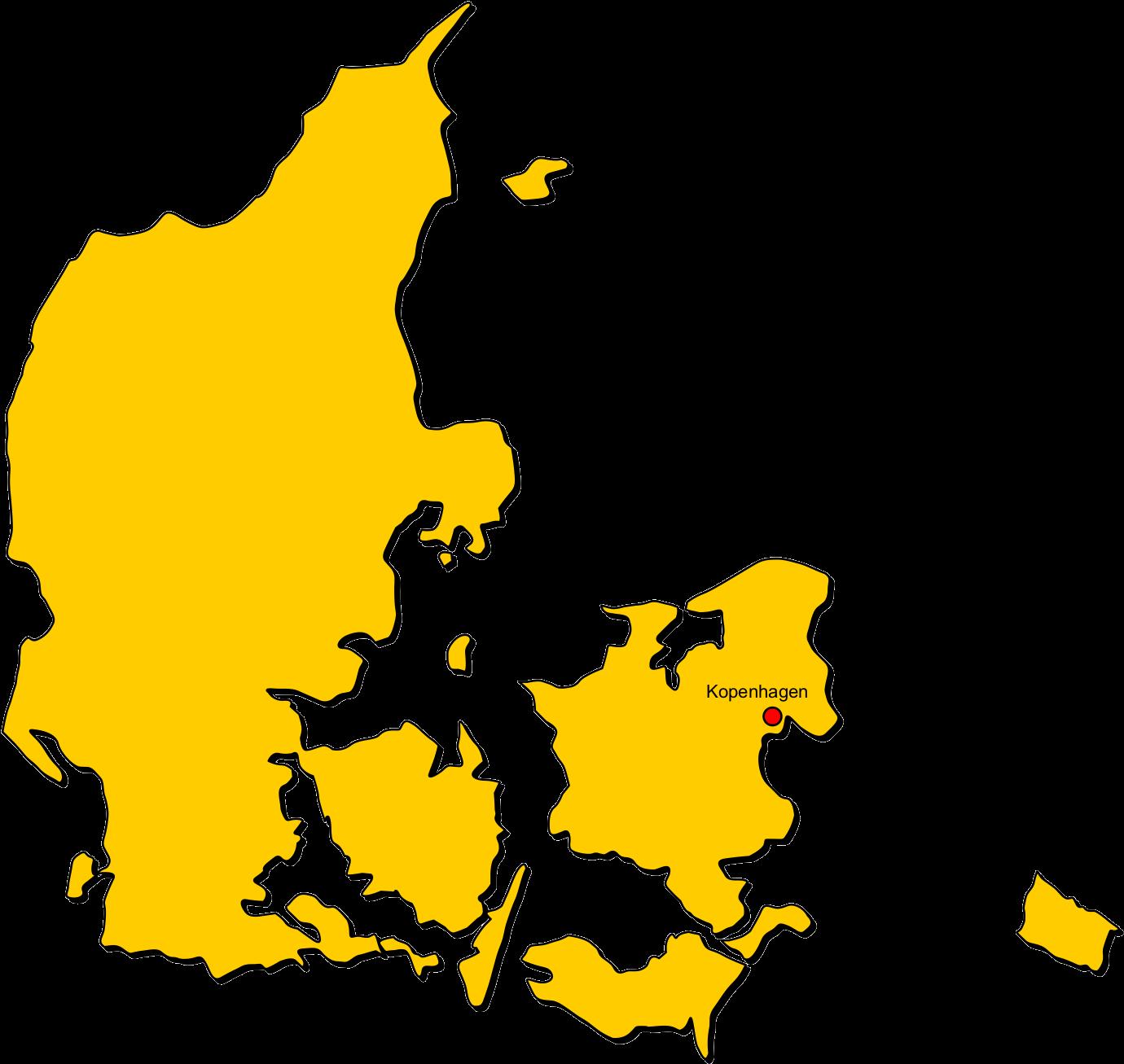 Karte clipart vector library download D U00e4nemark - Dänemark Karte Schwarz Weiß Clipart - Full ... vector library download