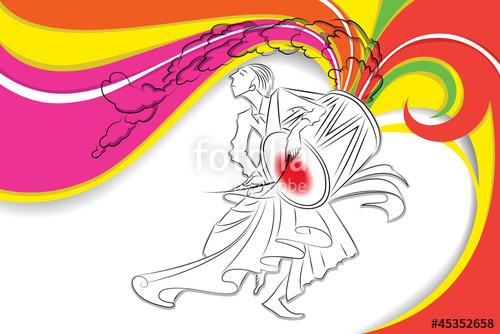 Kashful clipart clip freeuse Drummer in Durga Puja\