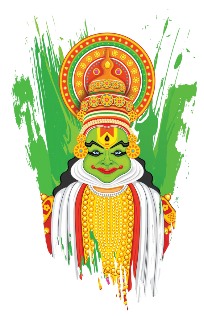Kathakali clipart