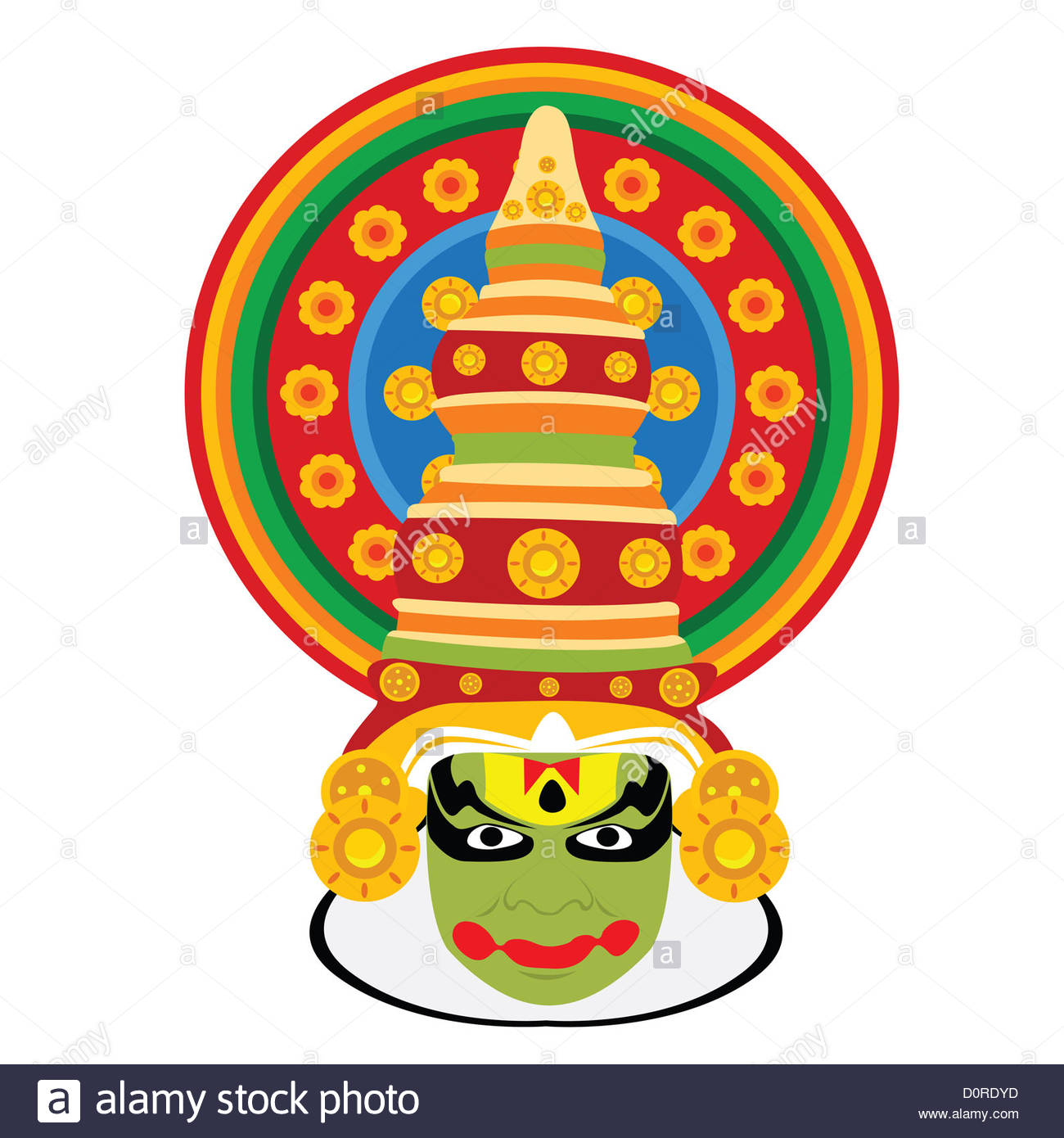Kathakali clipart clipart black and white stock Kathakali dance clipart 12 » Clipart Station clipart black and white stock