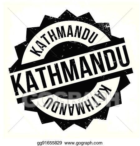 Kathmandu logo clipart svg transparent download EPS Vector - Kathmandu rubber stamp. Stock Clipart ... svg transparent download