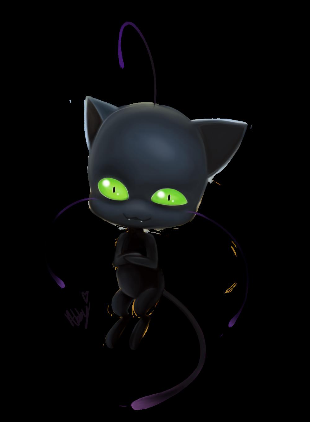Kawaii black cat clipart vector free download Plagg by kawaii-little-neko.deviantart.com on @DeviantArt ... vector free download