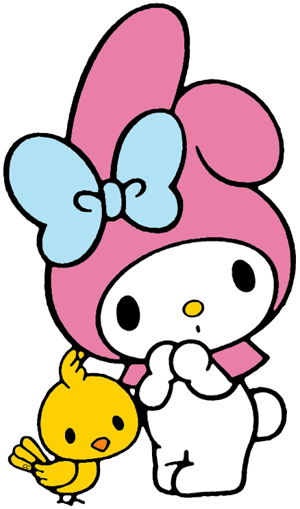 Kawaii book clipart banner free http://www.cartoon-clipart.co/images/my-melody-chick.png | My Melody ... banner free
