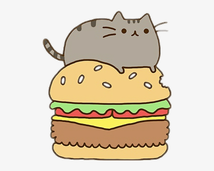 Kawaii cat clipart black and white royalty free picture Clip Royalty Free Download Kawaii Clipart Fast Food ... picture