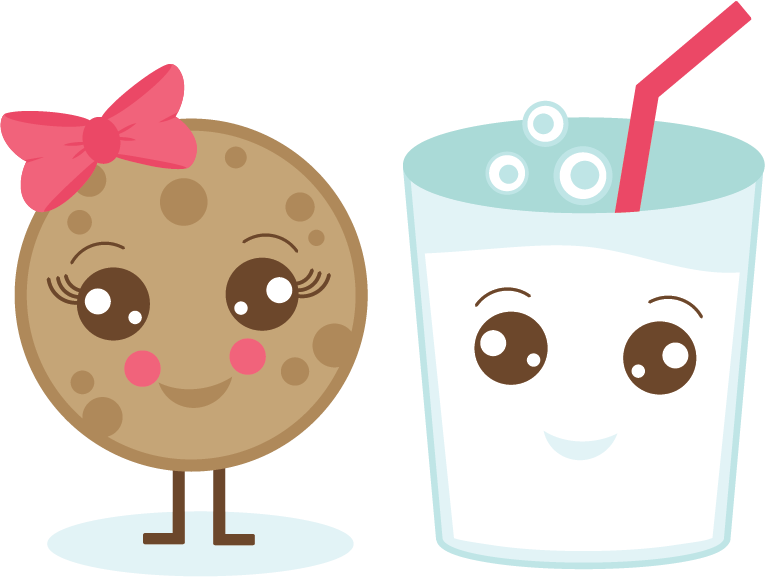 Kawaii school clipart graphic royalty free library Milk & Cookie SVG. | Kawaii | Pinterest | Milk cookies, Kawaii and ... graphic royalty free library