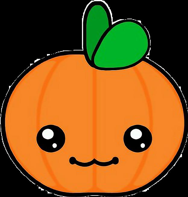 Kawaii clipart halloween clipart free stock calabaza kawaii halloween - Sticker by Itzi Zamora clipart free stock