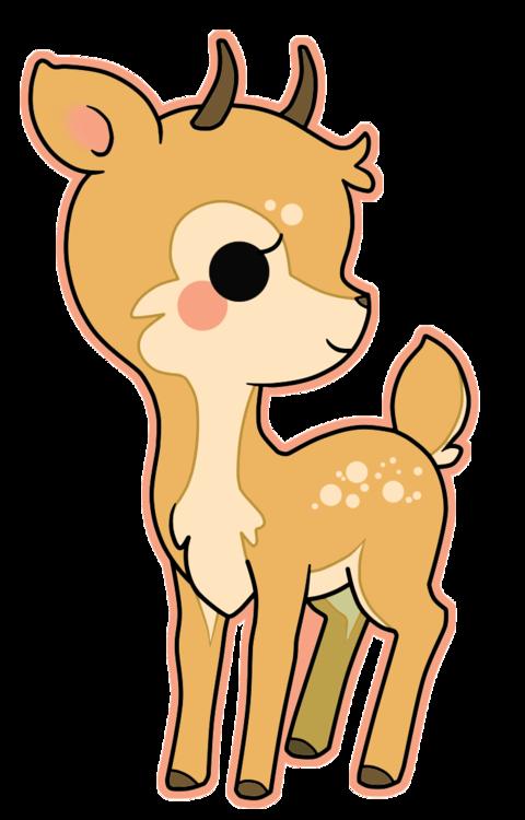 Kawaii clipart halloween vector transparent library kawaii deer - Google Search | Kawaii | Pinterest | Kawaii, Deer art ... vector transparent library
