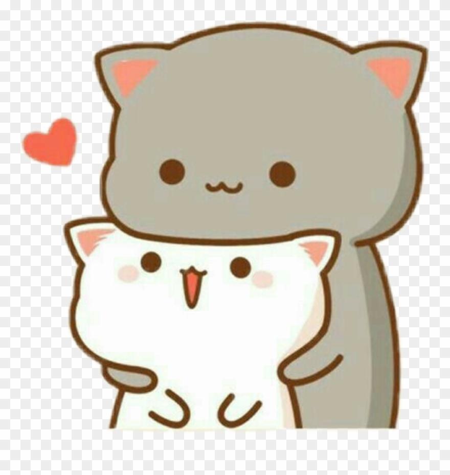 Kawaii clipart stock Cat Sticker - Kawaii Wallpaper Love Clipart (#3678549 ... stock