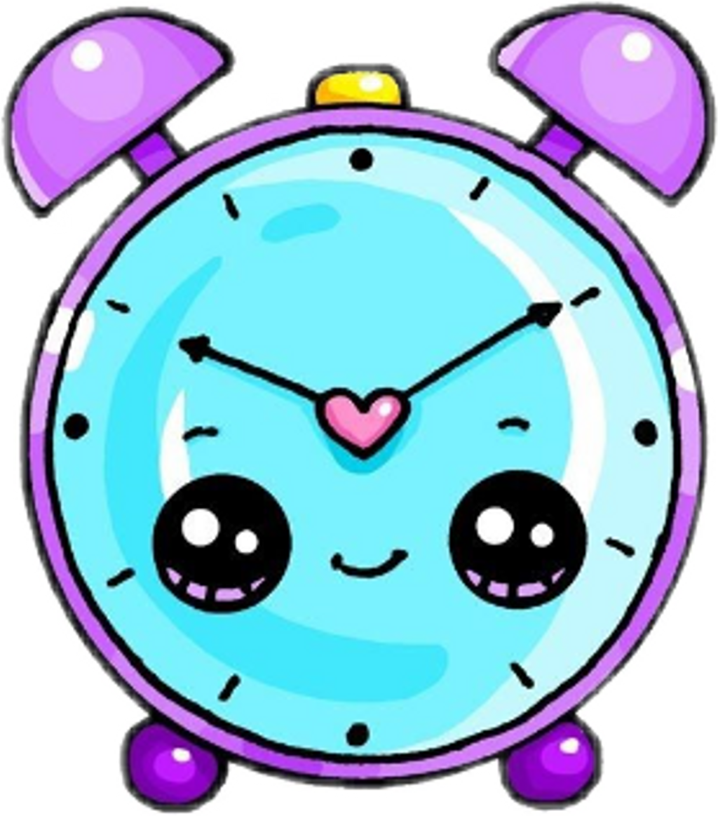 Kawaii dictionary clipart svg free Freetoedit Kawaii Cute Reloj Watch - Alarm Clock Easy Draw ... svg free