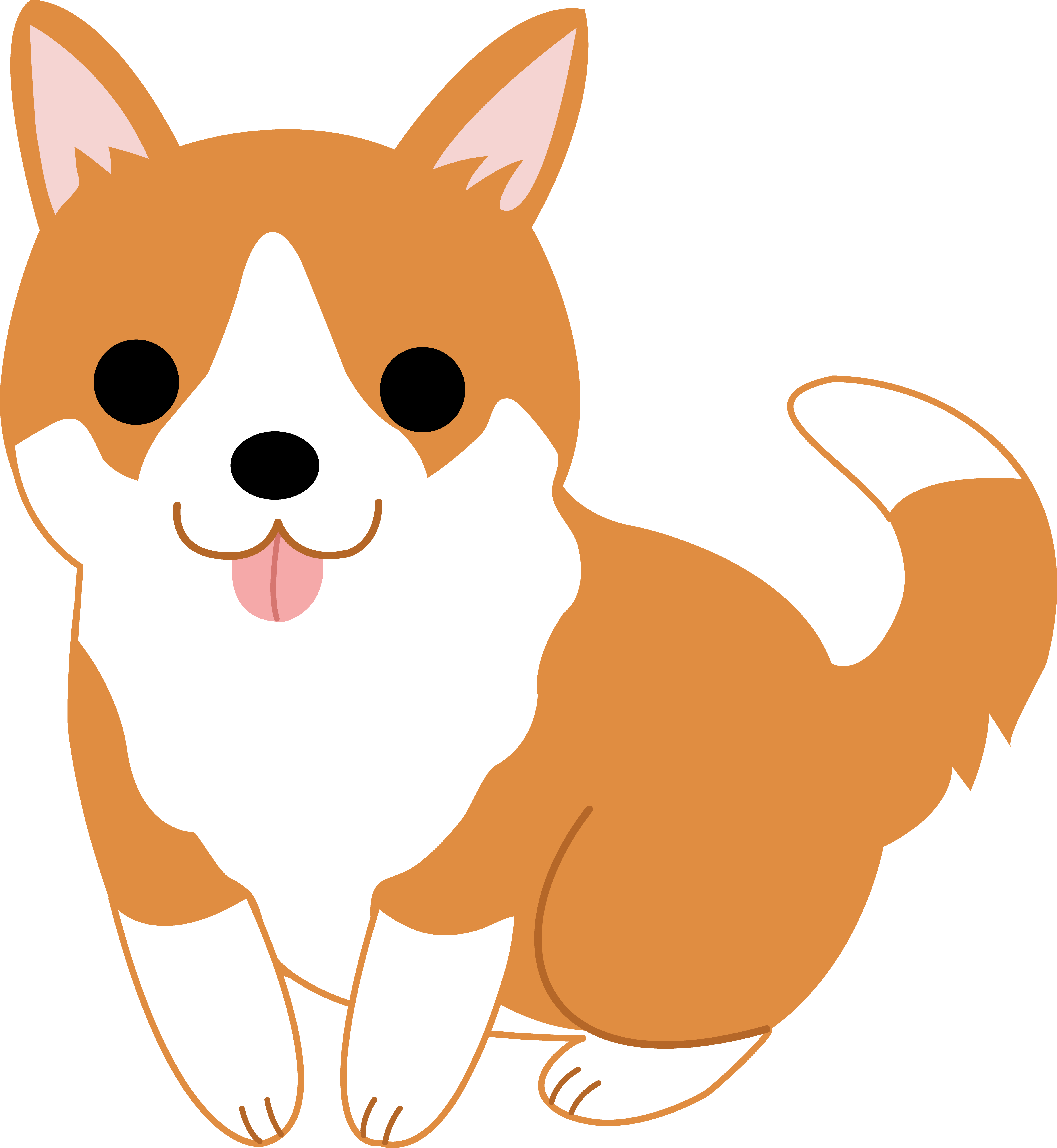 Kawaii dog clipart jpg stock 28+ Collection of Kawaii Dog Clipart | High quality, free cliparts ... jpg stock