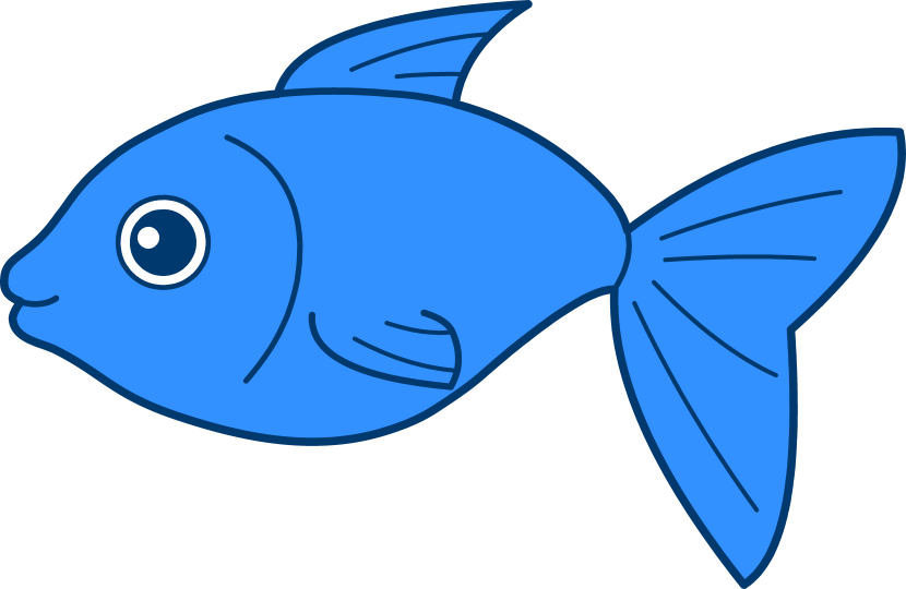 Kawaii fish clipart svg freeuse Cute Fish Clipart - cilpart svg freeuse
