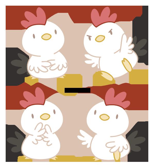 Kawaii house clipart vector royalty free library Art, character – Daieny Schuttz | Chicken | Pinterest | Characters ... vector royalty free library