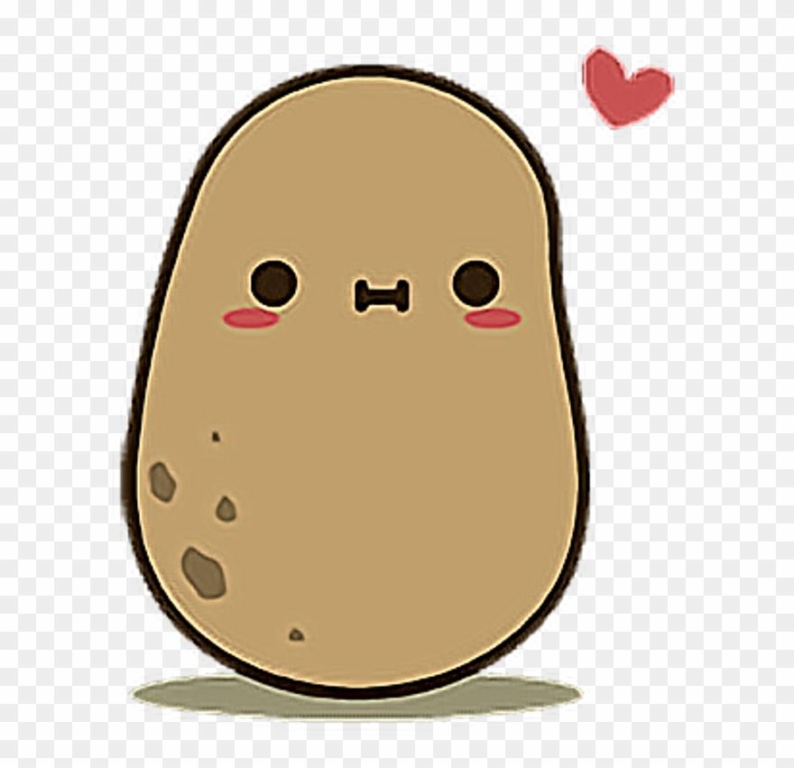 Kawaii potato clipart picture freeuse download Potato Food Kawaii Cute Adorable - Kawaii Potato Clipart ... picture freeuse download