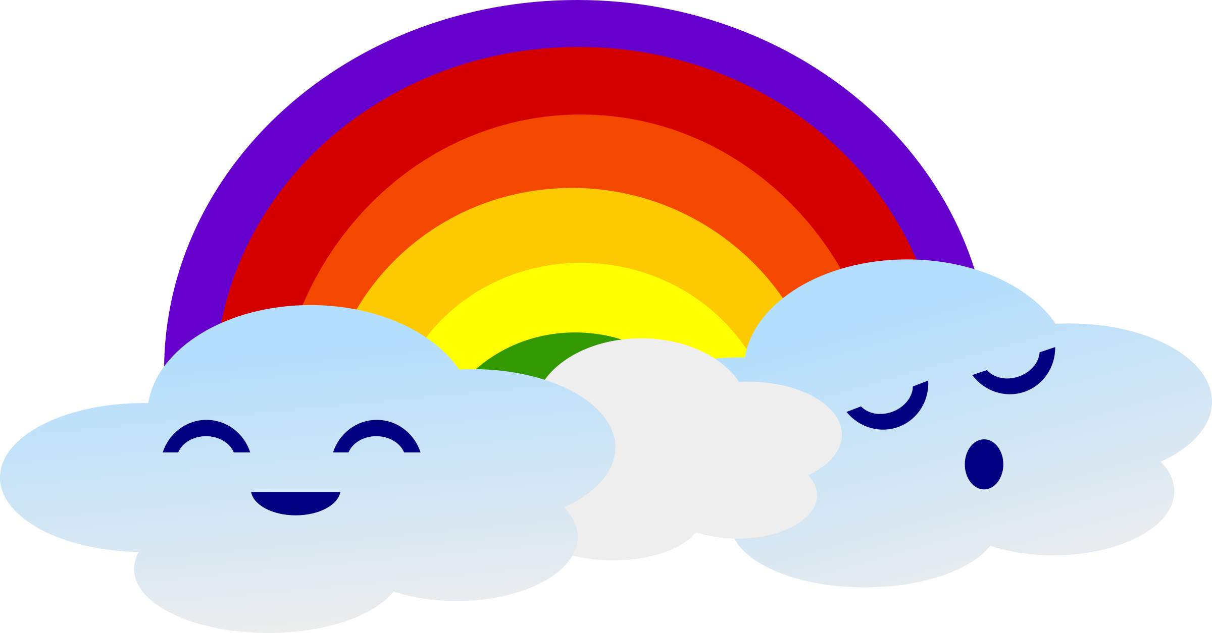 Kawaii star clipart clip royalty free download Kawaii Rainbow Icons PNG - Free PNG and Icons Downloads clip royalty free download