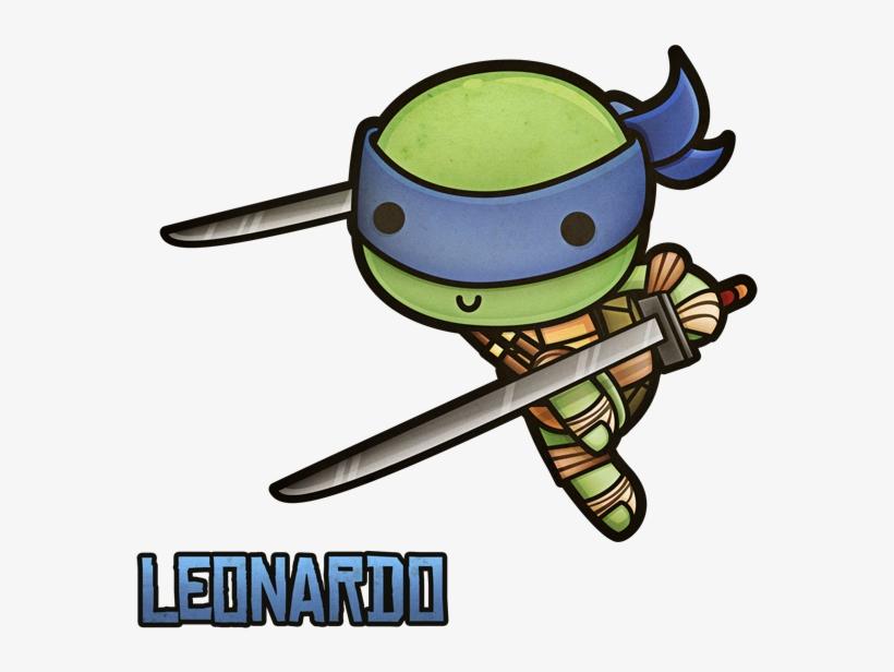 Kawaii turtle chibi clipart free Ninja Turtles Clipart Kawaii - Leonardo Ninja Turtle Chibi ... free