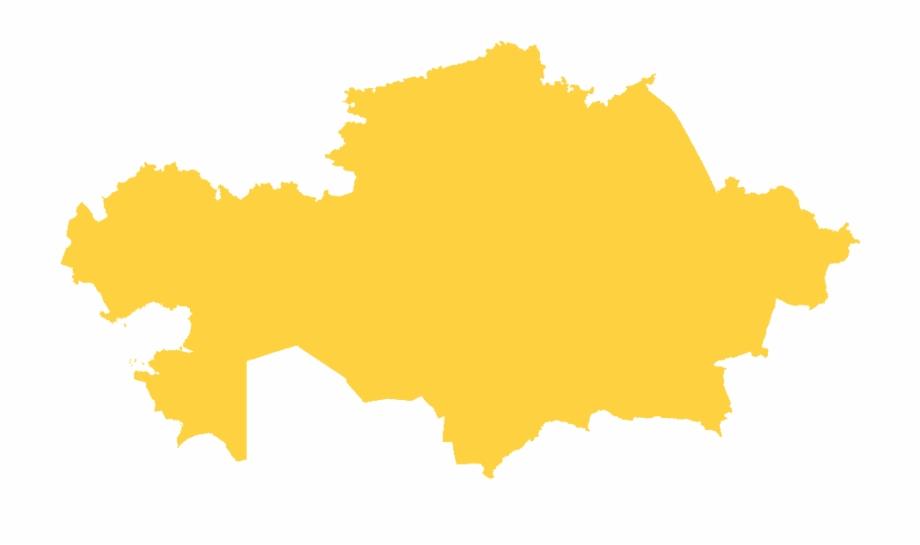 Kazakhstan clipart picture freeuse download Leaves Clipart Orange Leaf - Kazakhstan Map Flag Free PNG ... picture freeuse download