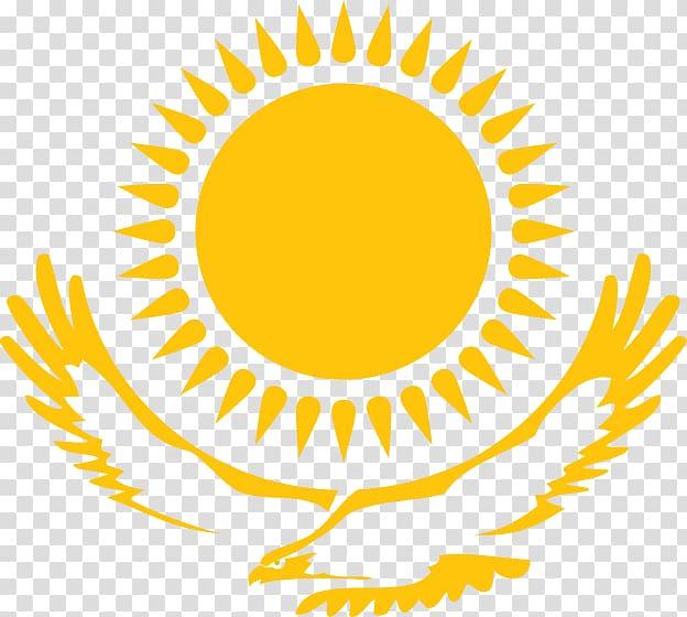 Kazakhstan clipart svg black and white download Flag of Kazakhstan Emblem of Kazakhstan, sun transparent ... svg black and white download