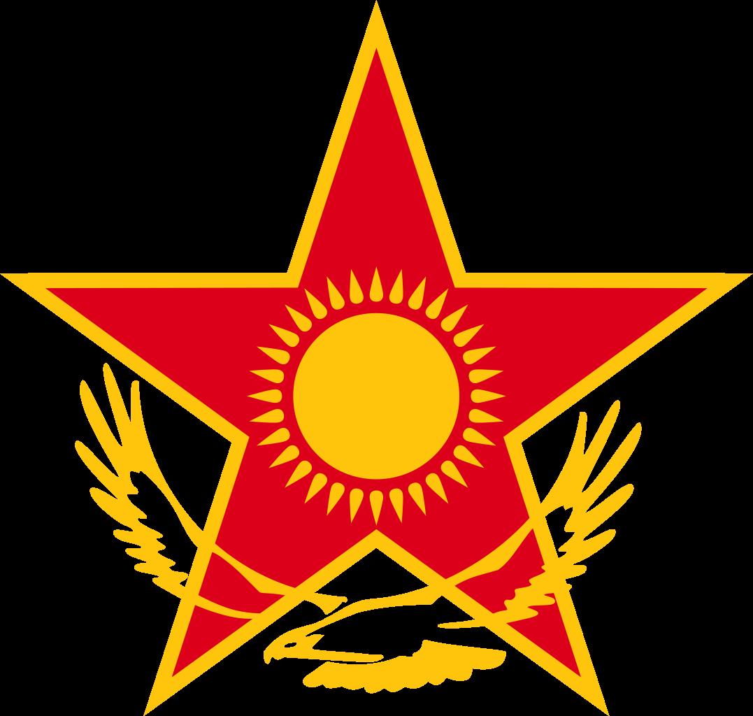 Kazakhstan eagle sun clipart svg royalty free stock File:Roundel of Kazakhstan.svg - Wikimedia Commons svg royalty free stock