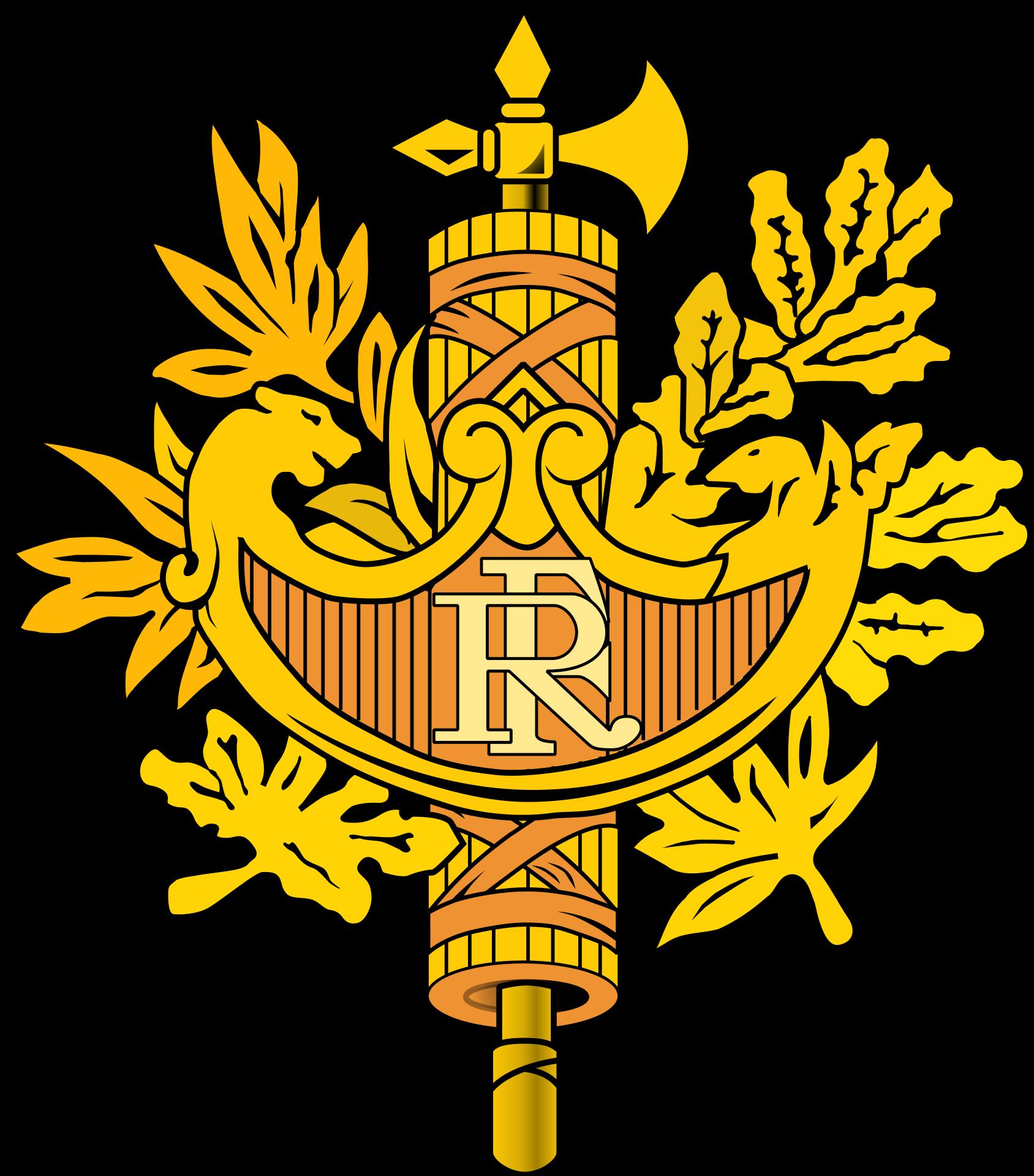 Kazakhstan eagle sun clipart clip French Fifth Republic, France's current republican system of ... clip