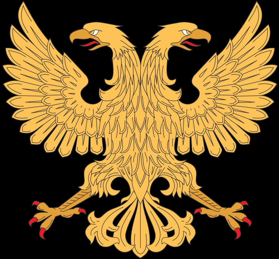 Kazakhstan eagle sun clipart banner free File:Displayed double head eagle.svg | Byzantium | Pinterest | Filing banner free