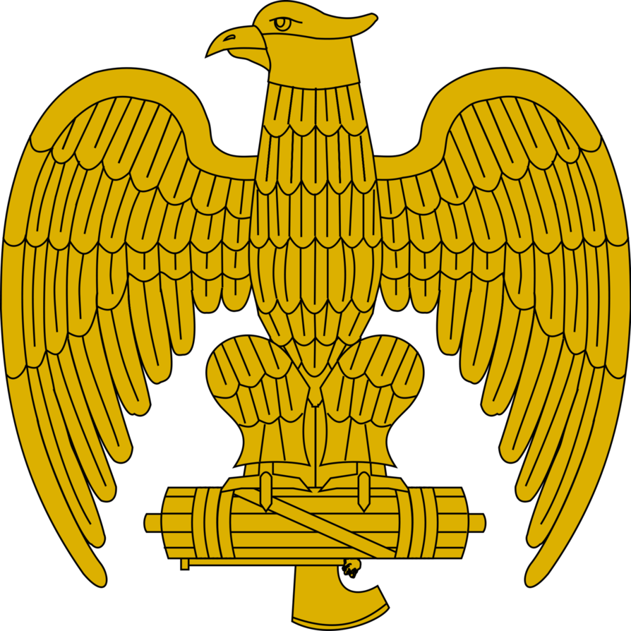 Kazakhstan eagle sun clipart royalty free stock Mussolini's Eagle by TheMistRunsRed on DeviantArt royalty free stock