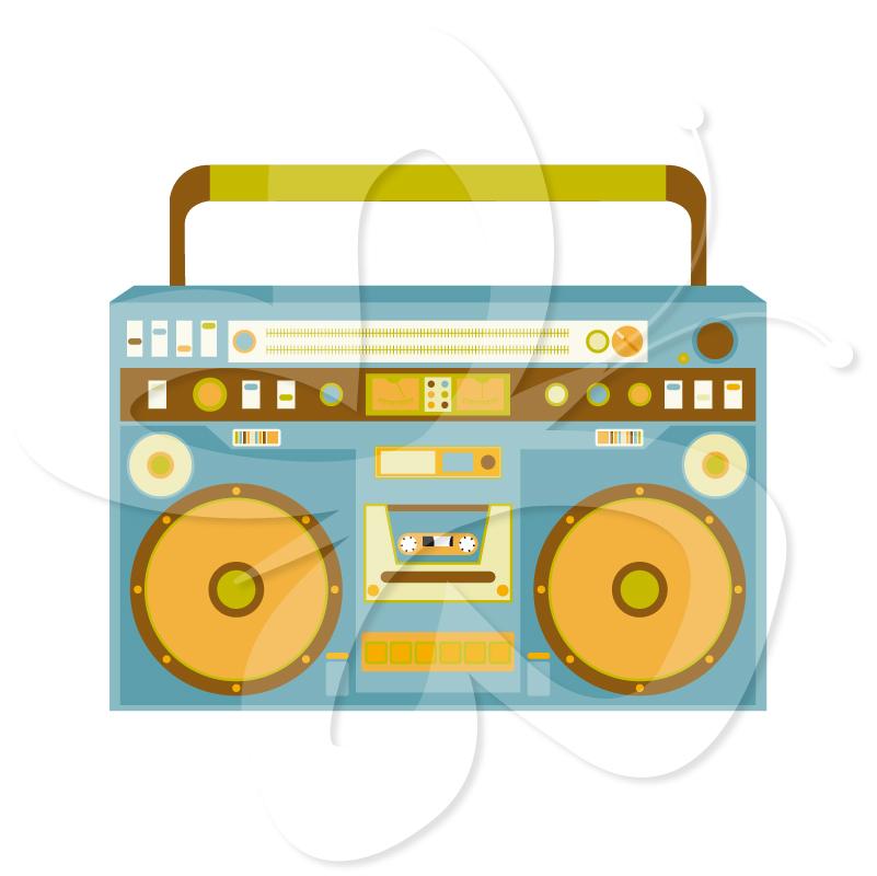 Kbb clipart transparent stock Boombox Speaker Trevi KBB 300 in denim | TREVI - Clip Art ... transparent stock