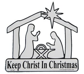 Keep christ in christmas clipart clipart free library Keep Christ In Christmas Magnet clipart free library