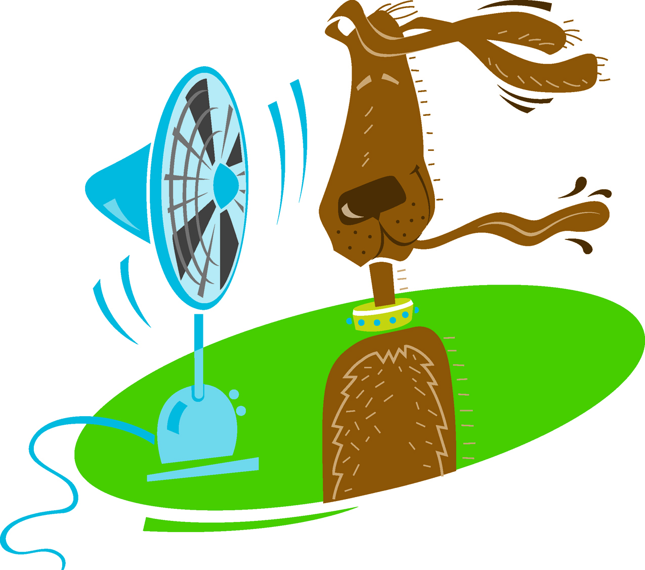 Keep cool clipart image free library Keep pets cool, comfortable and safe during hot weather ... image free library