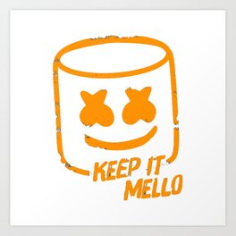 Keep it mello clipart clip art royalty free Mello Art Prints | Society6 clip art royalty free