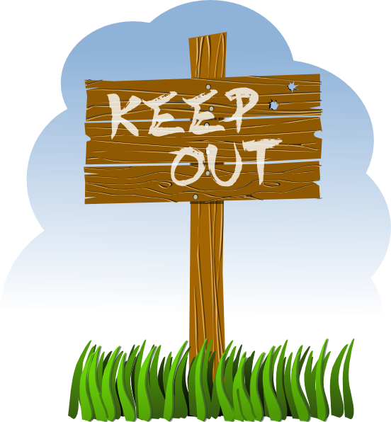 Keep out sign clipart clipart free download Keep Out Clip Art at Clker.com - vector clip art online ... clipart free download