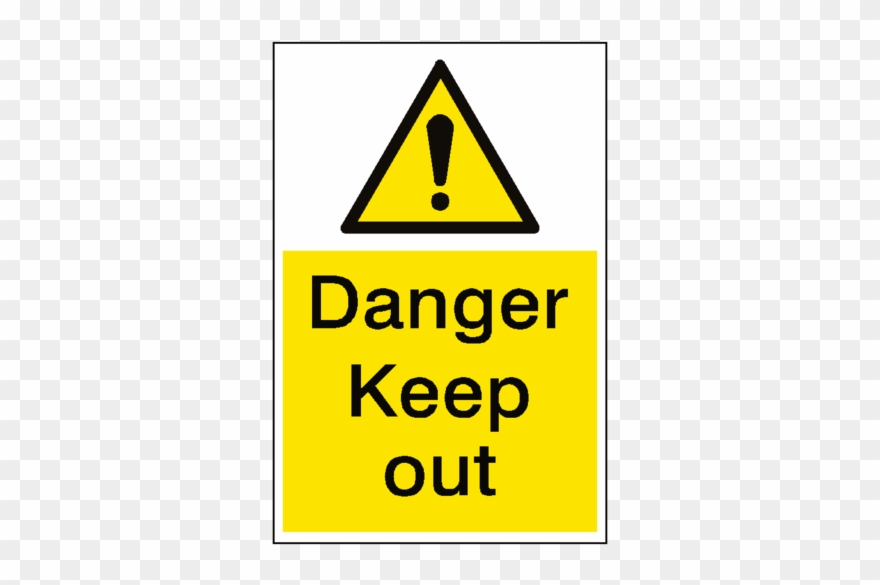 Keep out sign clipart banner free Keep Out Free Clipart Hq - Deep Water Warning Signs - Png ... banner free