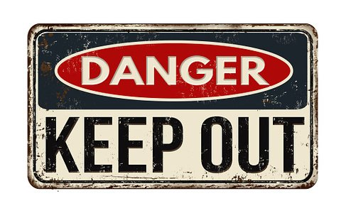 Keep out sign clipart image royalty free library Danger Keep Out Rusty Metal Sign premium clipart ... image royalty free library