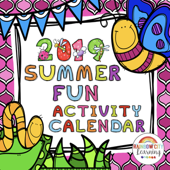 Keep them learning over the summer clipart for teachers clip art freeuse Summer Fun Activity Calendar 2019 with Lifetime Updates clip art freeuse