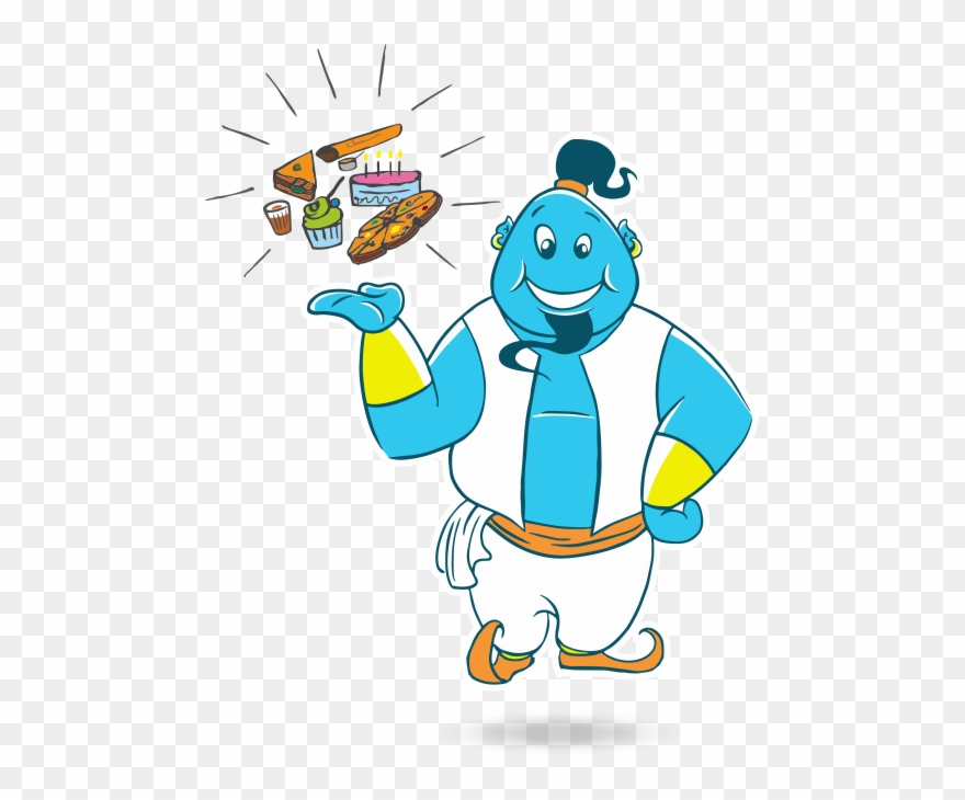 Keeping clipart png In Keeping With The Name, We Created A Mascot, A Genie ... png