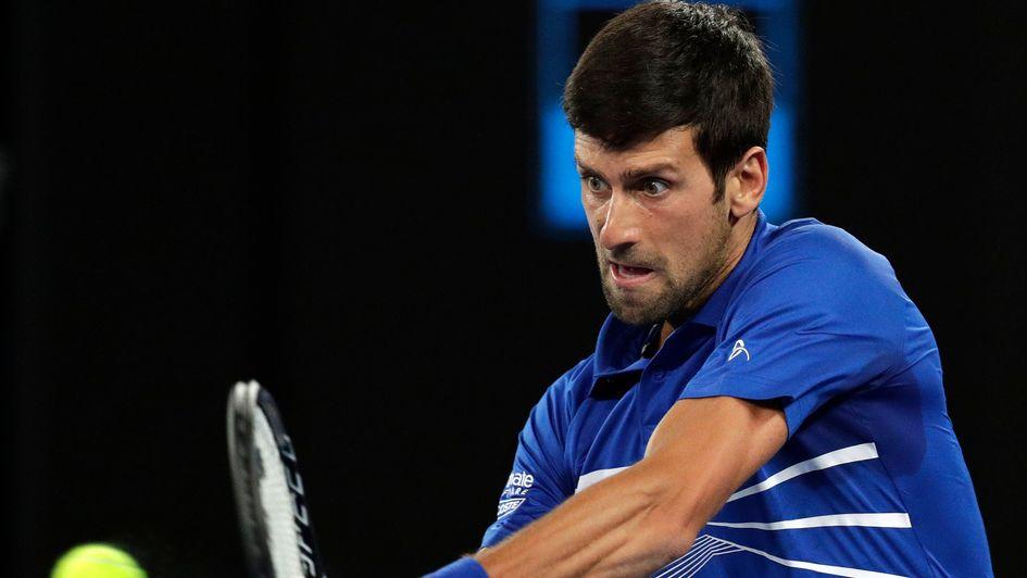 Kei nishikori clipart svg library stock Australian Open: Novak Djokovic to underline superiority ... svg library stock